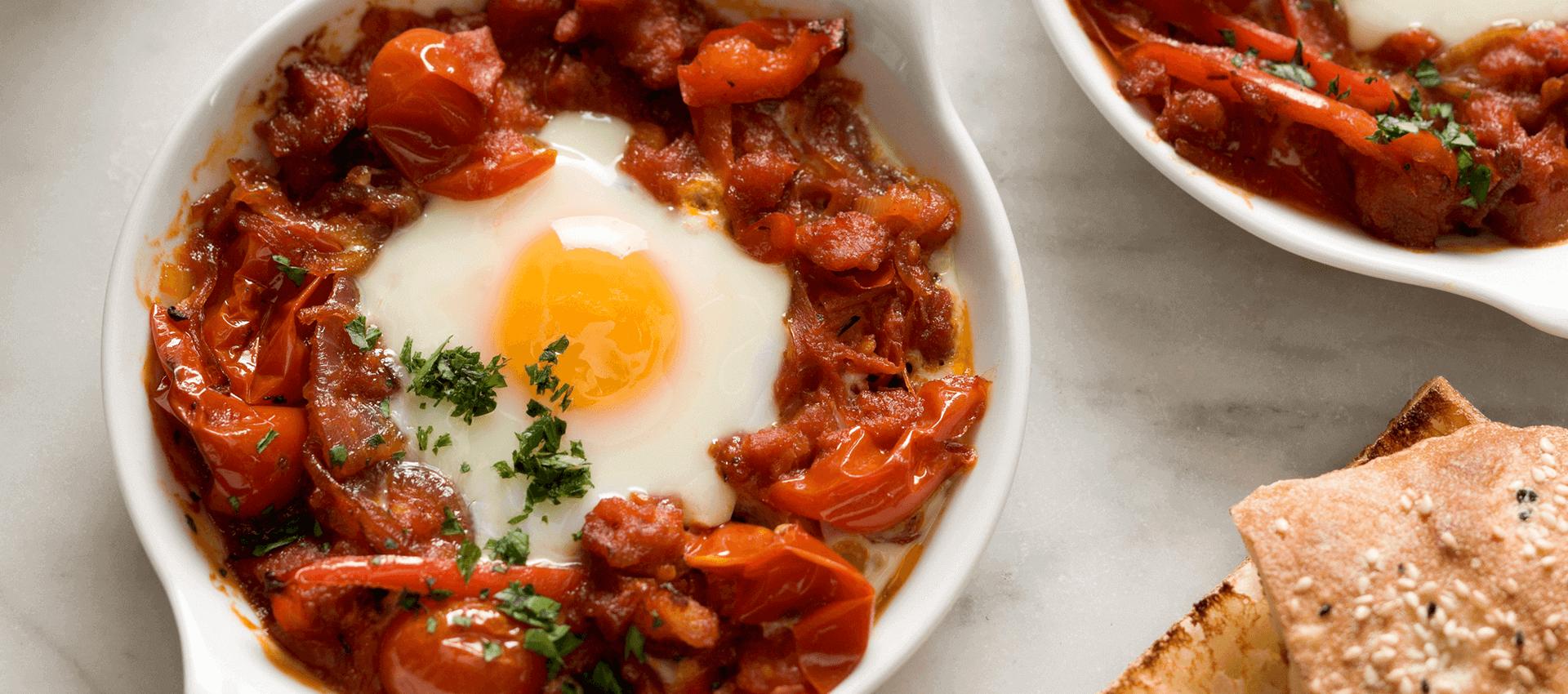 Italian style baked eggs - Mutti